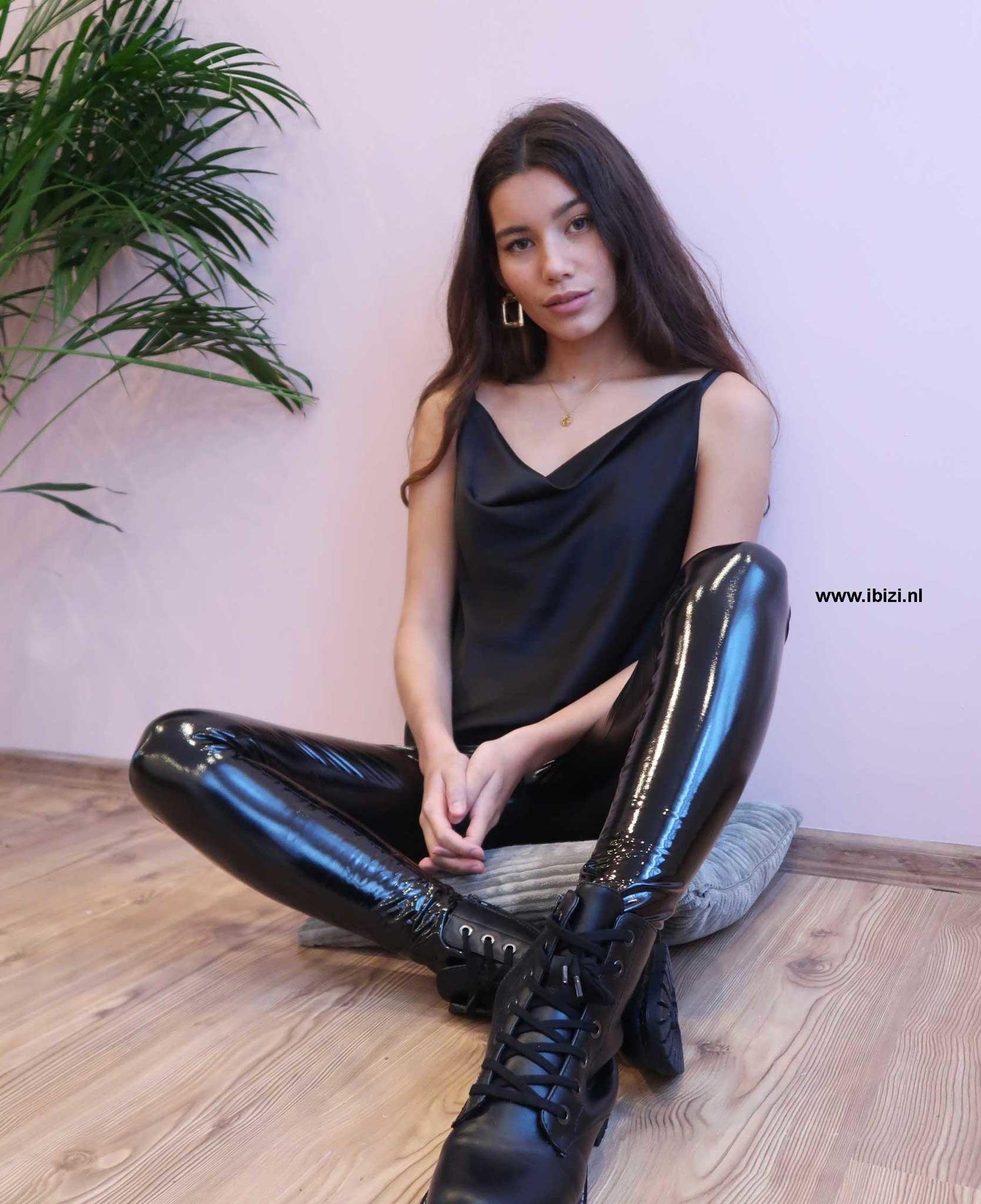 Latex Broek Zwart
