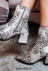 Slangenprint Laarsjes - Snakeprint Boots
