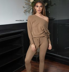 Loungewear Set Dames Creme