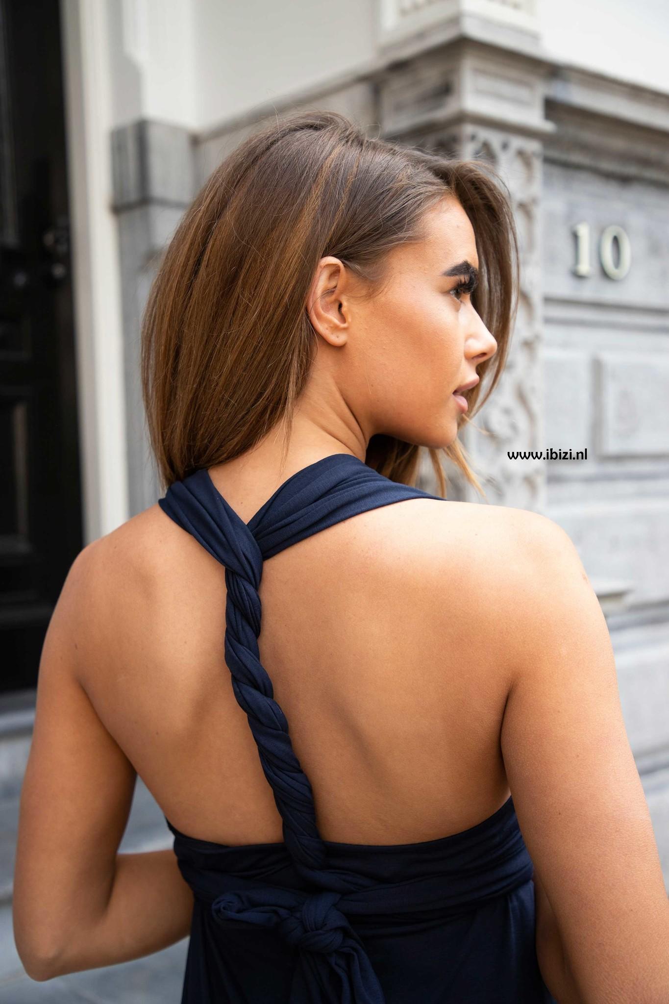 Infinity Dress Lichtblauw