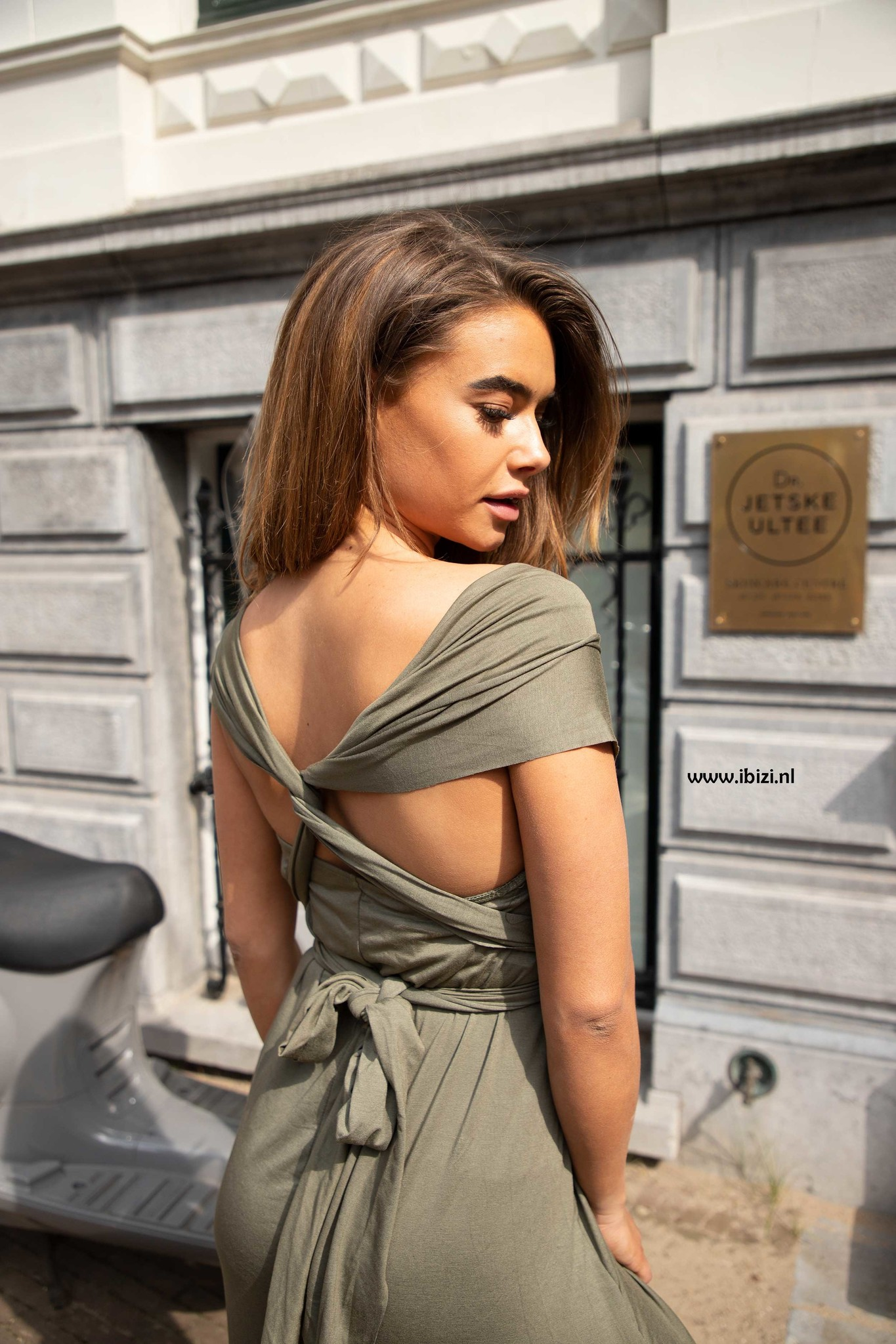 Infinity Dress Groen