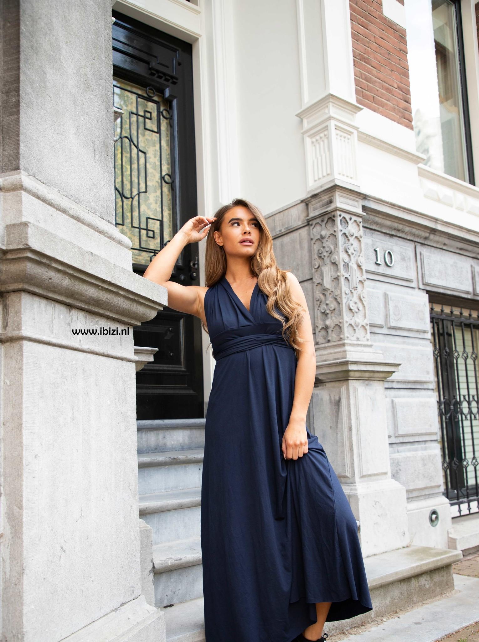 Infinity Dress Geel