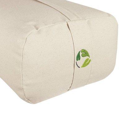 EcoYogi yoga bolster rectangular - natur
