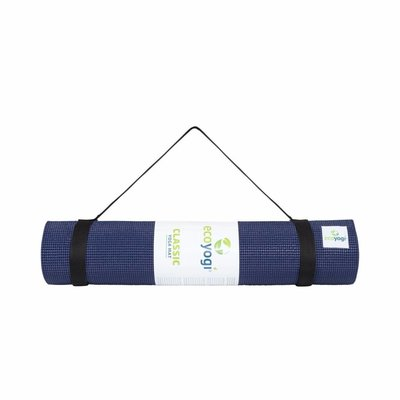 Ecoyogi Classic Yoga en Fitnessmat 183 cm - Midnight