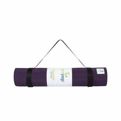 Ecoyogi Classic Yoga en Fitnessmat 183 cm - Plum
