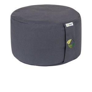 Ecoyogi Meditatiekussen rond Stone - hoog (18-20cm)