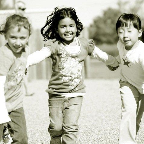 Kinderen in de groei en voedingssupplementen.