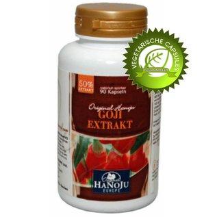 Goji extract vegetarische capsules 90 stuks 500 mg
