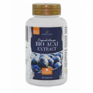 Biologische Acai 20:1 extract, 90 vegetarische capsules 500 mg