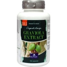 Graviola - Zuurzak 10:1 - 180 capsules (400mg)