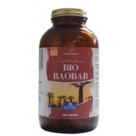 Biologisch Baobab 600 tabletten 500 mg