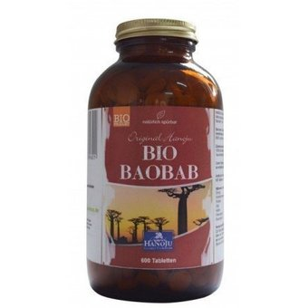 Biologisch Baobab 600 tabletten 500 mg