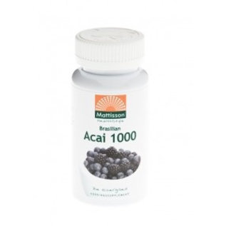Mattisson Acai 1000 berry extract 4:1 60 caps