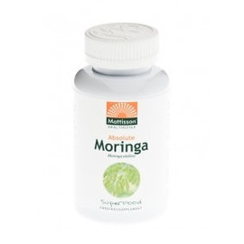 Mattisson Absolute Moringa Leaf 400 mg, 60 capsules