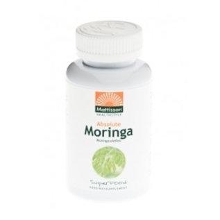 Mattisson Absolute Moringa Leaf 400 mg, 60 capsules