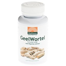 Mattisson Geelwortel / Curcuma extract 95% 650 mg