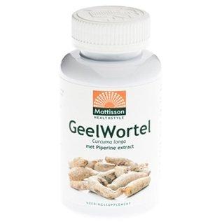 Mattisson Geelwortel / Curcuma extract 95% 650 mg