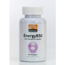 Mattisson Energy B-50 - B-Vitamine Complex