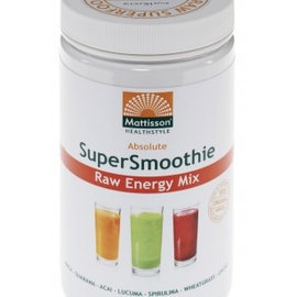 Mattisson Absolute Supersmoothie Energy Mix Bio 300 gram