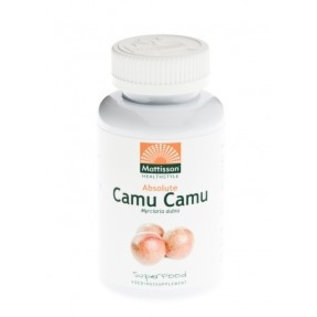 Mattisson Absolute Camu Camu capsules 500mg 60stuks