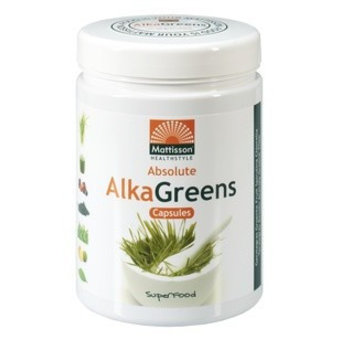 Mattisson AlkaGreens Capsules 750 mg, 240 vcaps