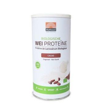 Mattisson Wei Proteïne Cacao Biologisch, 450 gram