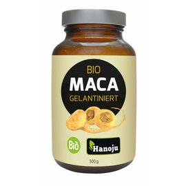 Hanoju BIO Maca gegelatineerd (verstijfseld) poeder, 300 gram
