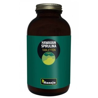 Hanoju Hawaiaanse Spirulina 500 mg 1000 tabletten
