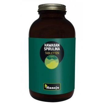 BIO Hawaiaanse Spirulina 500 mg 1000 tabletten