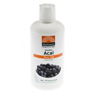 Mattisson Absolute Acai Juice - Puur