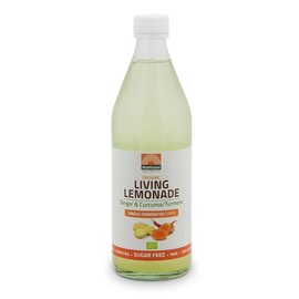 Mattisson Living Lemonade Ginger & Curcuma Single-Fermented drink Bio