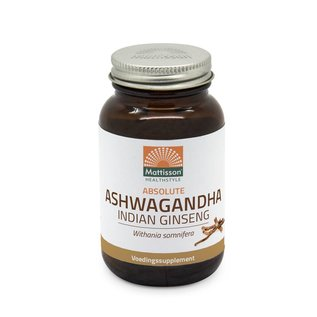 Mattisson Absolute Ashwagandha tabletten 450 mg