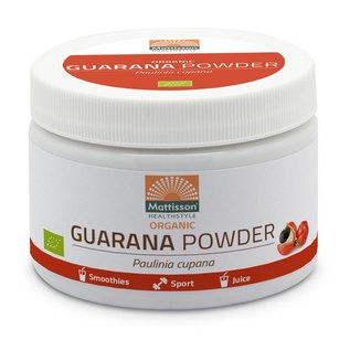 Mattisson Guarana Poeder Bio