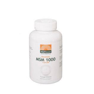Mattisson Absolute MSM 1000 mg