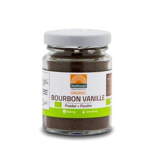Mattisson Bourbon Vanilla Poeder Bio