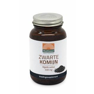 Mattisson Absolute Zwarte Komijn 500 mg