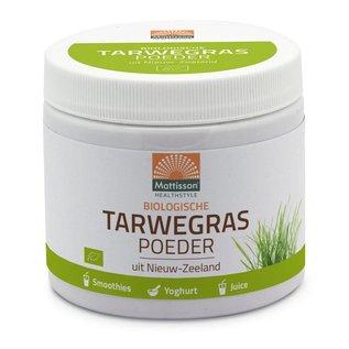 Mattisson Absolute Tarwegras Wheatgrass Poeder Bio Raw Nieuw Zeeland