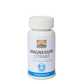 Mattisson Magnesiumcitraat 200 mg elementair magnesium