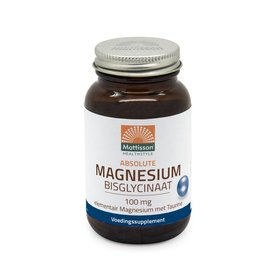 Mattisson Magnesium Bisglycinaat 100 mg elementair met taurine