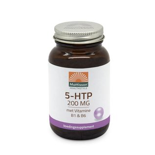 Mattisson 5-HTP 200mg met vitamine B1&B6