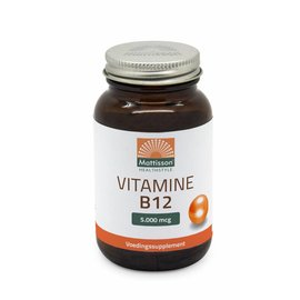 Mattisson Vitamine B12 5000 microgram