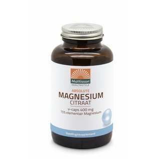 Mattisson Active Magnesium-citraat 400 mg