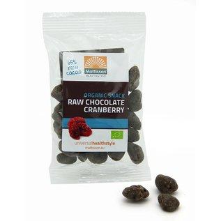 Mattisson Bio Cranberries Raw Choco Snack