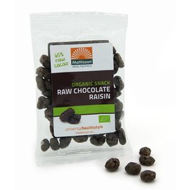 Mattisson Bio Rozijnen Raw Choco Snack