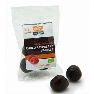 Mattisson Bio Raspberry Vanille Choco Snack