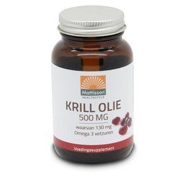 Mattisson Krill Olie 500 mg