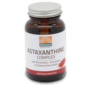 Mattisson Astaxanthine Complex met Resveratrol-, Druivenpiten Groene thee extract