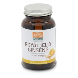 Mattisson Royal Jelly en Gingseng