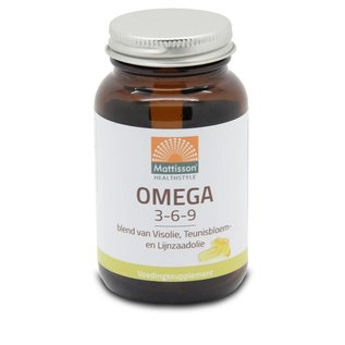 Mattisson Omega 3-6-9 -Vis, Teunisbloem en Lijnzaadolie