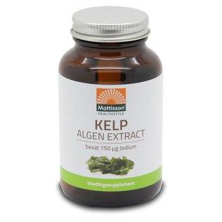 Mattisson Kelp Algenextract - 150 microgram jodium